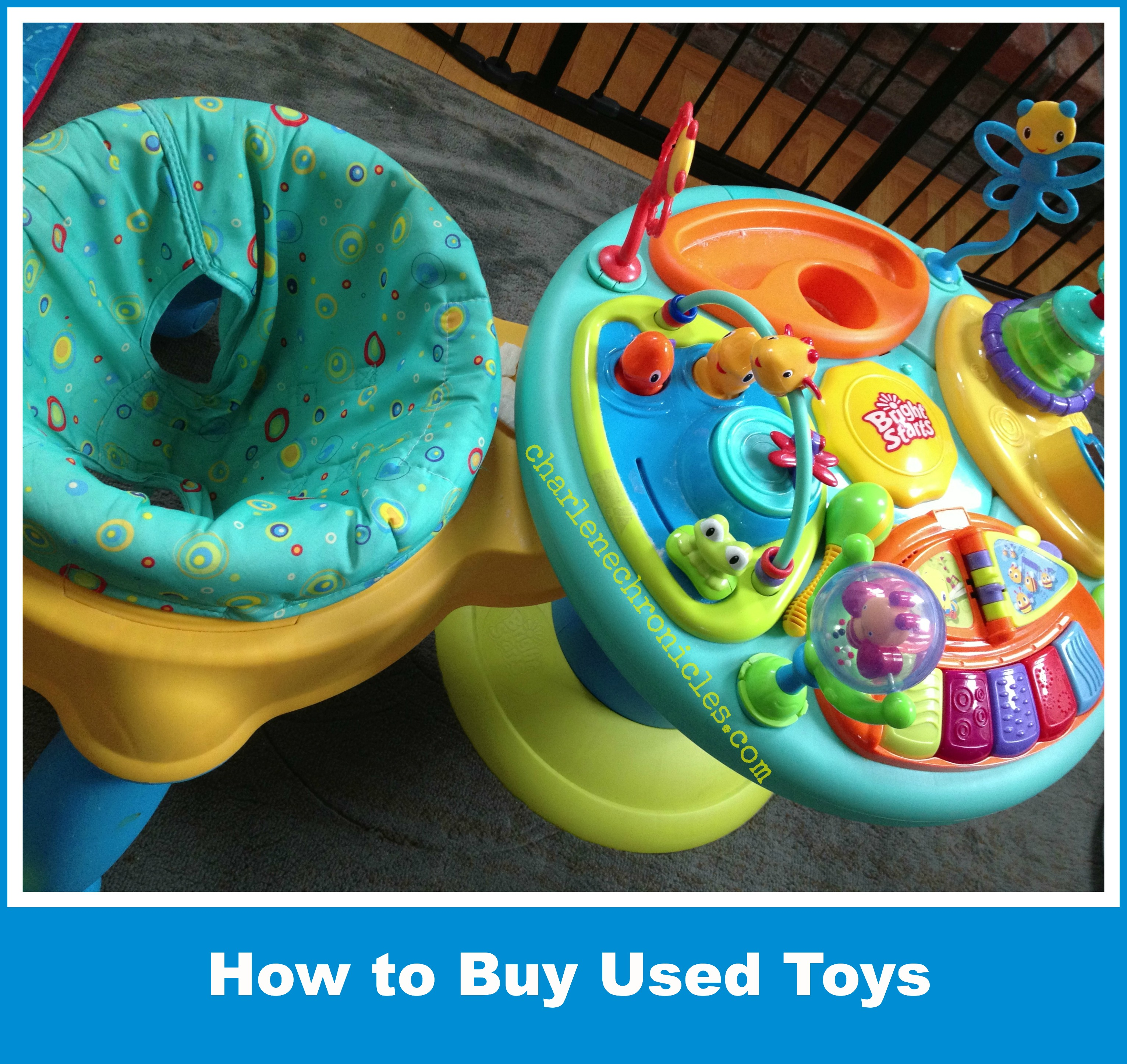 Guide To Choosing Baby Toys : Tips for buying used toys kids charlene chronicles