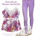 Floral Top - Playdate copy