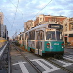 "Boston ""Green Line"" streetcar"