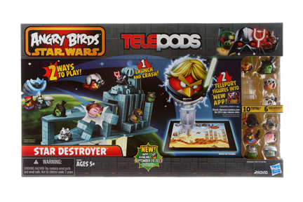 Hasbro.Angry Birds Star Wars Telepods Star Destroyer set