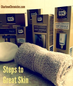 RoC® Skin Care Products - Charlene Chronicles