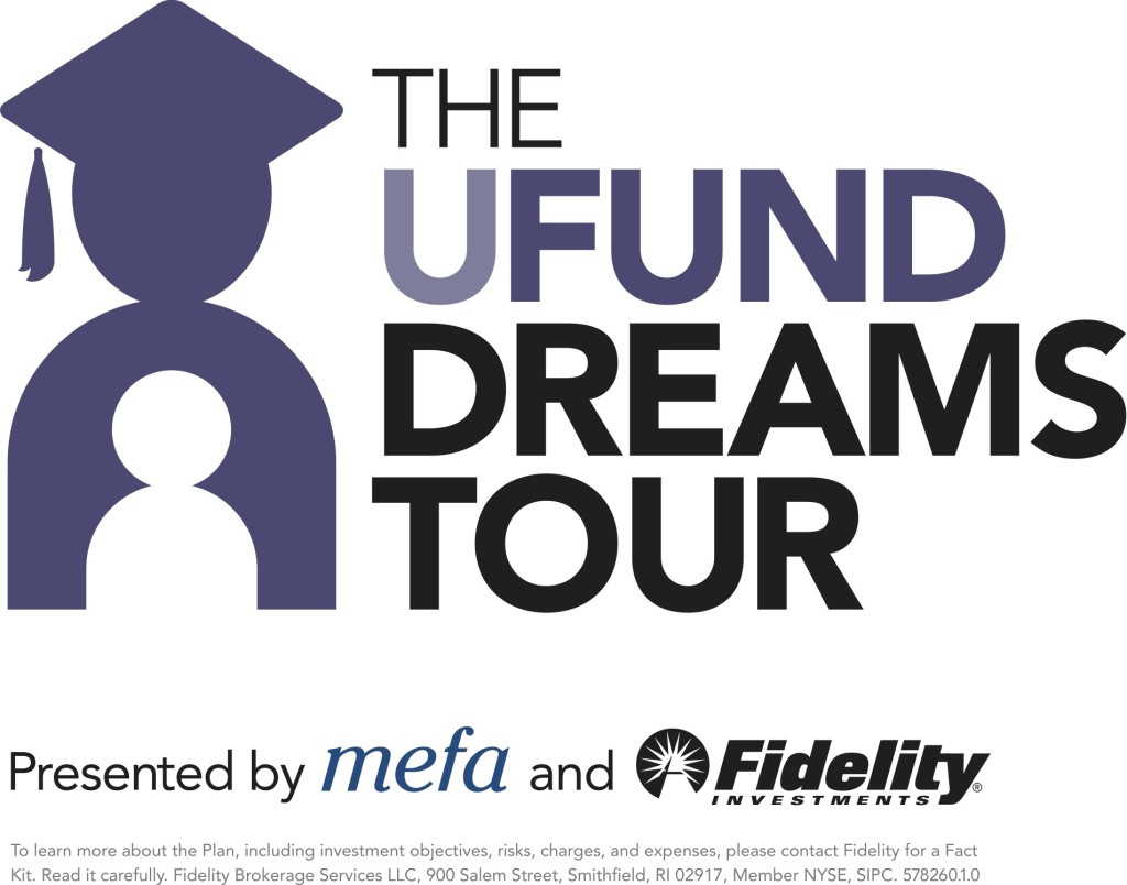 U.Fund Dreams Tour logo with disclosure copy