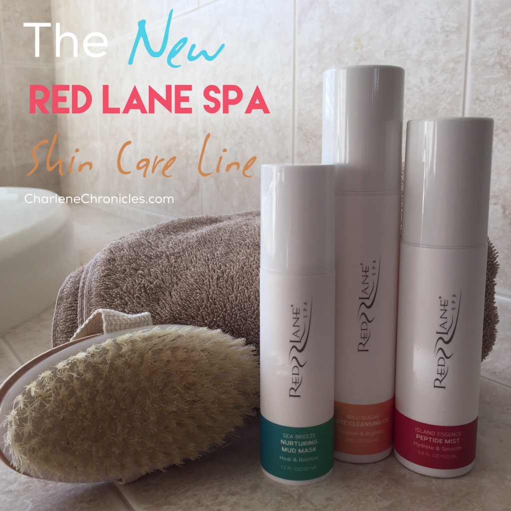 Red lane spa skin care line charlene chronicles for A skin care salon