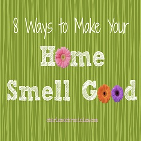 8 Natural Ways To Make Your Home Smell Good Charlene