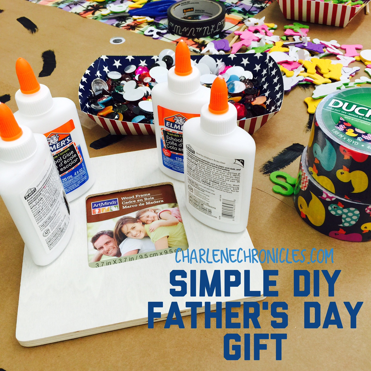 Simple DIY Father's Day Gift